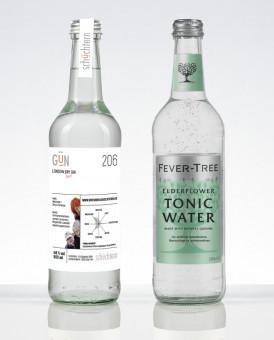 GÜN + Tonic Water + Gläser + Tasche + CD Paket